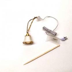 Лампа потолочная, миниатюра 1:24