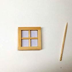 Окно маленькое, простое, масштаб 1:24
