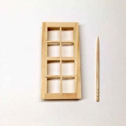 Окно простое, масштаб 1:24