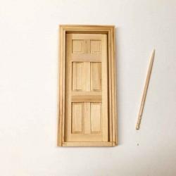 Дверь шестипанельная, масштаб 1:24