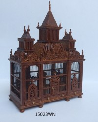 Клетка Bird Cage with Birds, масштаб 1:12