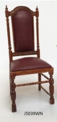 Стул Jacobean 1620 Chair-walnut, масштаб 1:12