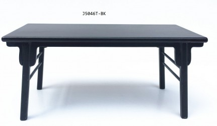Стол Ming Dynasty Writing Table -Black, масштаб 1:12