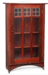 Книжный шкаф Single Door Bookcase, масштаб 1:12