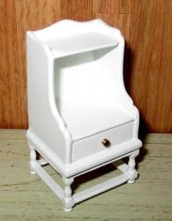 Столик End table-white, масштаб 1:12