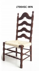 Стул Ladder Back Side Chair, кукольная миниатюра 1:12