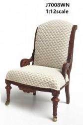 Кресло Restoration Arm Chair, кукольная миниатюра 1:12