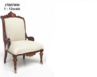 Кресло Restoration Armchair - c1870, кукольная миниатюра 1:12