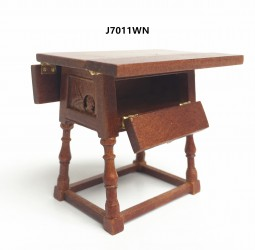 Столик Drop Leaf Table-late Elizabethan, кукольная миниатюра 1:12