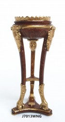 Высокий столик louis XV gilt mounted tripod fern stand, миниатюра 1:12