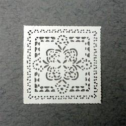 Салфетка декоративная ажурная, масштаб 1:12