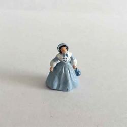 Георгианская дама, миниатюра 1:144
