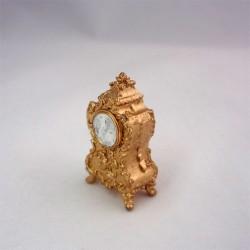 Часы нарядные золотые, масштаб 1:12