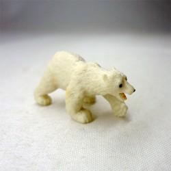 Белый медведь, игрушка для кукольного домика