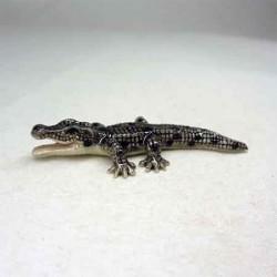 Фигурка крокодил, миниатюра