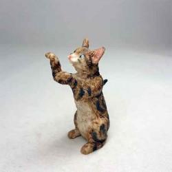 Котик просящий, миниатюра 1:12