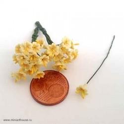 Желтая лилия, миниатюра 1:12