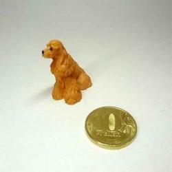 Собачка Кокер спаниель, кукольная миниатюра 1:24
