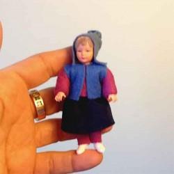 Кукла Ребенок, миниатюра 1:12