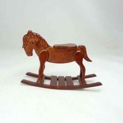 Лошадка - качалка, миниатюра 1:12
