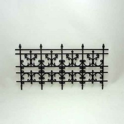 Декоративная ограда, миниатюра 1:12