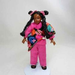 Кукла Майя, миниатюра 1:12